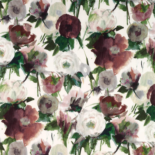 Vorhang Pardes - 1 Stück Verblüffend nah am Original: Aquarell im Digitaldruck, wie von Hand gemalt.
