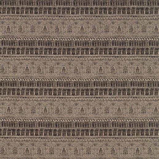 Vorhang Ducale - 1 Stück Der Dogenpalast als jacquardgewebte Reproduktion eines antiken Stichs.