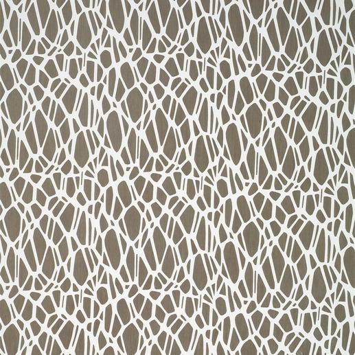 Vorhang Ashley - 1 Stück Wohn-Trend Stein-Optik – hier selten leicht und licht.
