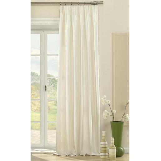 Vorhang Badez - 1 Stück Mit diesem luxuriösen, feinem Changeant-Vorhang können Sie Ihre Wohnung abdunkeln.