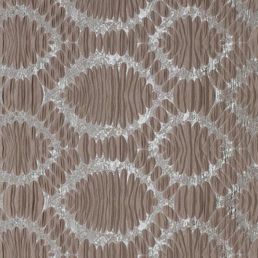Vorhang Medaillion - 1 Stück Faszinierend dreidimensional und voluminös. Dabei verblüffend leicht und erschwinglich.
