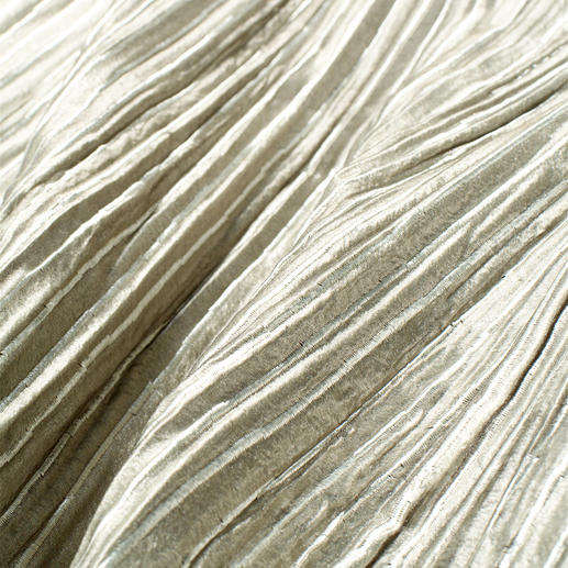 Vorhang Brenda - 1 Stück Die voluminöse Wirkung eines wattierten Matelassé-Gewebes.  Aber lichter, leichter, fließender.