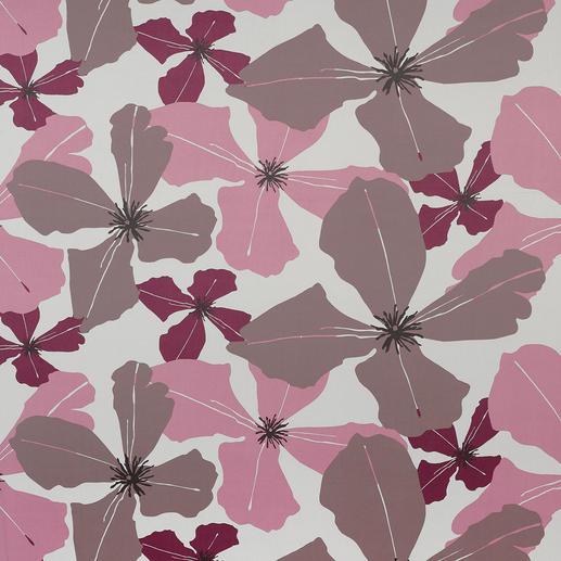 Vorhang Dalias - 1 Stück Modernes Design. Trendige Farben. Helle Rückseite.  Und doch 100 % Verdunkelung.