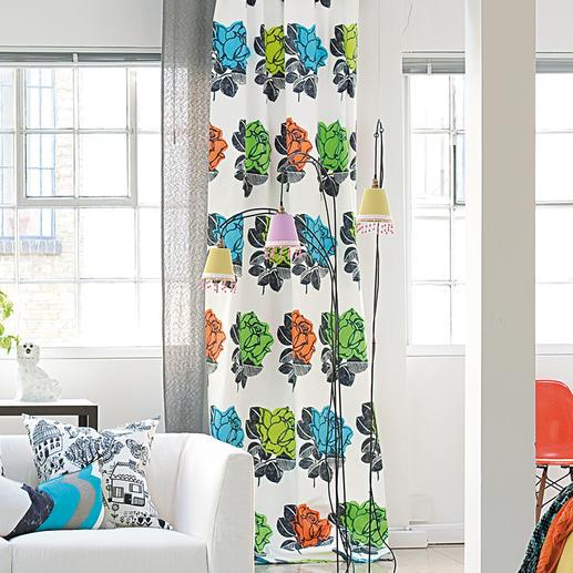 """Vorhang """"Ramblas"""", 1 Vorhang - Junges Design von Weltrang. Jetzt zu einem außergewöhnlich guten Preis."""