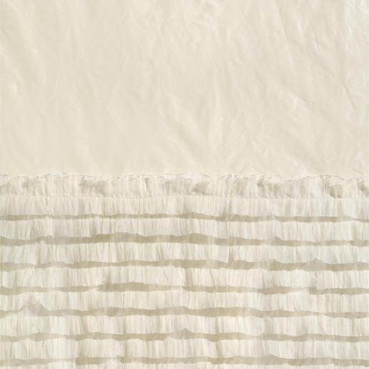 Vorhang Desiderio - 1 Stück Das neueste Stoffkunstwerk von Castello del Barro ist ein Traum aus Taft und Tüll.