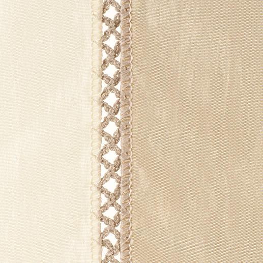 Vorhang Minuetto - 1 Stück Die wohl aufwändigste Art von Blockstreifen kommt aus dem Atelier von Castello del Barro.