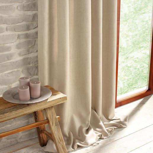 """Vorhang """"Exeter"""", 1 Vorhang Im Trend: Grobe Struktur. Natürliche Haptik. Und Farben wie Sand und Meer."""