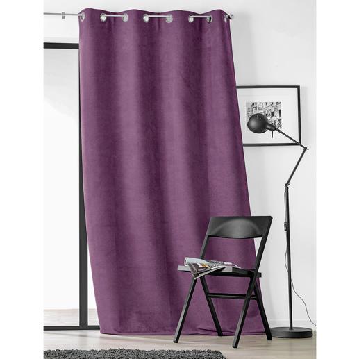 Vorhang Snake - 1 Stück Samtweich und luxuriös wie Wildleder. Aber deutlich günstiger.