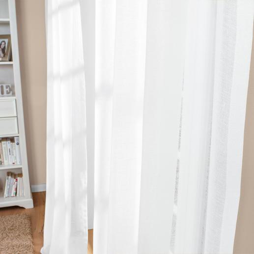 """Vorhang """"Pino"""", 1 Vorhang Leinen mit Glimmer. Aber ohne kratziges Metallic-Garn."""