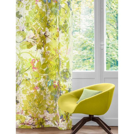 Vorhang Artemisia - 1 Stück - Die seltene und aufwändige Kunst des Kettdrucks: All in One – gedruckt und gewebt.