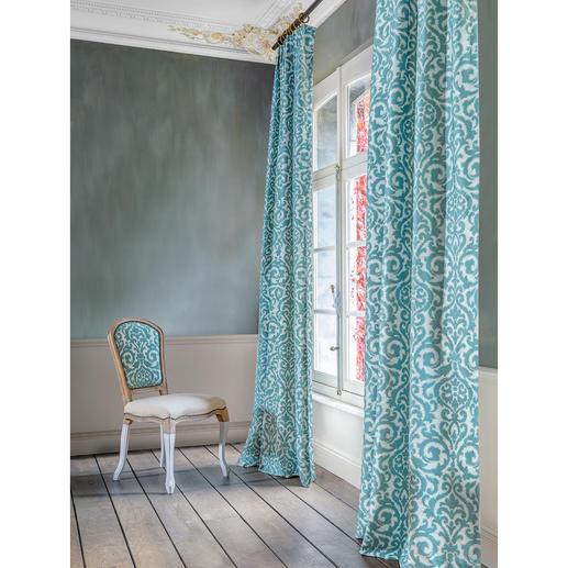 Vorhang Maple - 1 Stück Barocke Pracht in moderner Dimension: Fühlbar plastisch. Ohne ein Vermögen zu kosten.