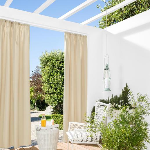Vorhang Elba - 1 Stück Selten ist ein robuster Outdoor-Vorhang so günstig.