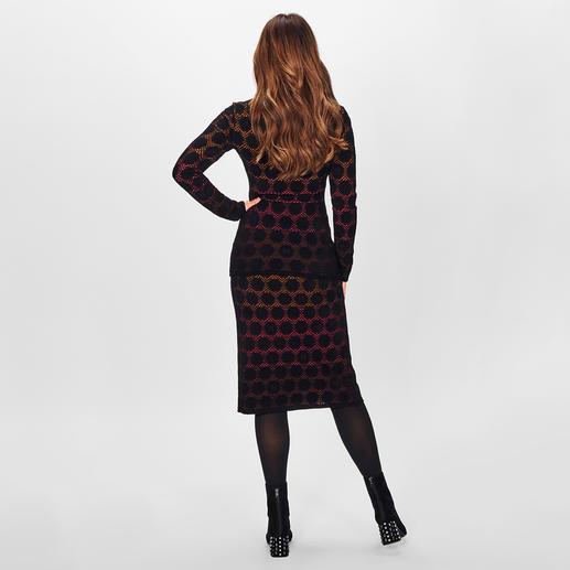 M Missoni Polka-Dots-Strickrock oder -Pullover M Missonis Polka-Dots sind sogar 3-fach trendy: aus angesagt samtigem Strick und auf hochmodischem Farbverlauf.