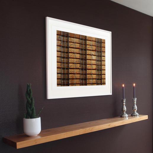 Das Werk ist voller Details, vielschichtig und anspruchsvoll – eine Bereicherung für jede Wohnungs- oder Büroeinrichtung.