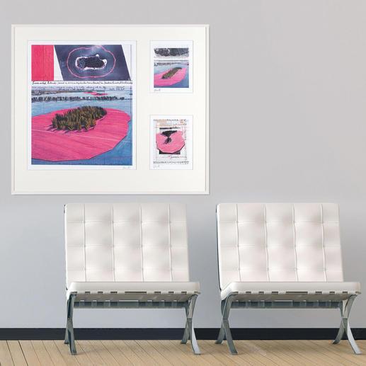Weltberühmt und außergewöhnlich – die Werke Christos und Jeanne-Claudes.