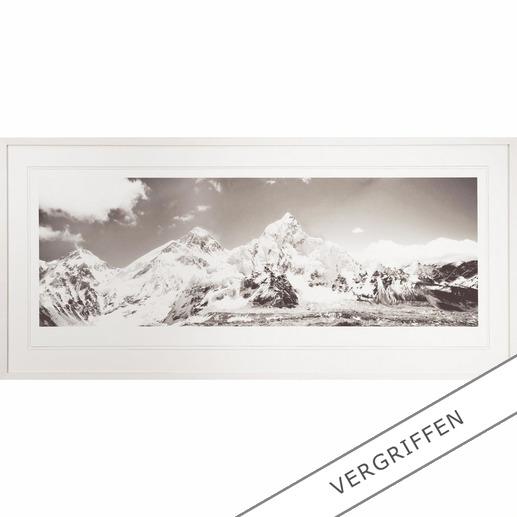 Koshi Takagi – Himalaya - Fotorealistische Bleistiftzeichnung mit über 1 Million handgemalten Strichen. Erste Edition des mehrfach ausgezeichneten jap. Künstlers Koshi Takagi. 30 Exemplare.