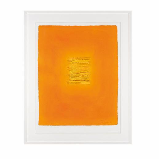 """""""Prolog 41"""", gerahmt 82,5 x 102,5 cm."""