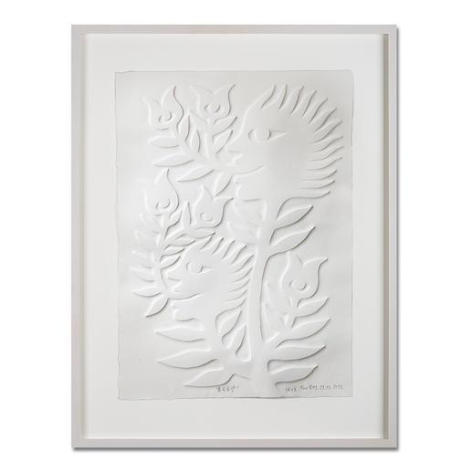Ren Rong – Frühlingshoffnung - Das berühmteste Motiv eines der renommiertesten chinesischen Künstler. Ren Rongs Pflanzenmensch erstmals als Prägedruck.