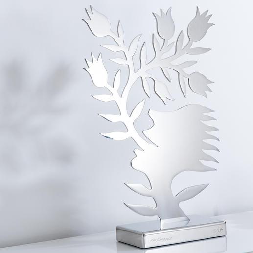 """""""Blumensprache"""", 61 x 36 x 15 cm."""