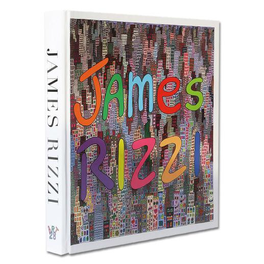 """Zu jeder Bestellung erhalten Sie die Publikation """"James Rizzi, Artwork 1993 – 2006""""."""