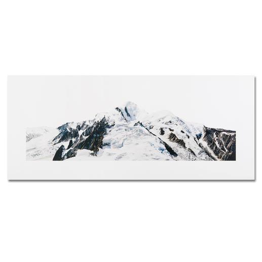 """""""Mont Blanc"""" auf DIBOND®, 130 x 55 cm."""