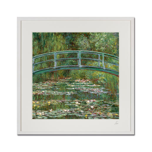 "Claude Monet – Water Lily Pond (1899) - Claude Monet ""Water Lily Pond"" (1899) als High-End Prints™.