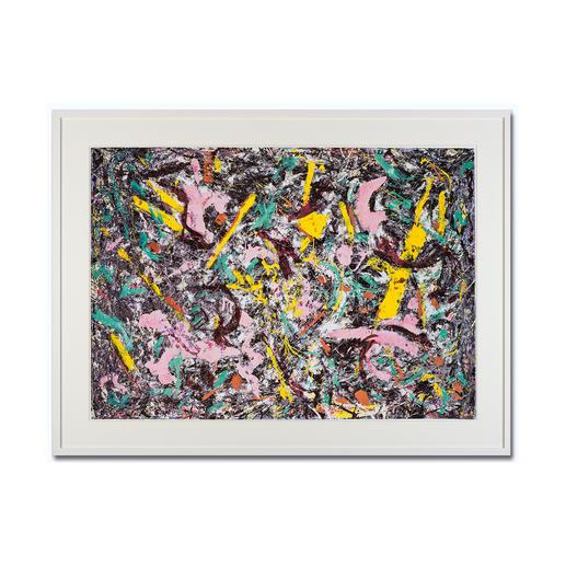 """Jackson Pollock – Unformed Figure (1953) - Jackson Pollock """"Unformed Figure"""" (1953) als High-End Prints™. Endlich eine Qualität, die dem großen Meisterwerk tatsächlich gerecht wird."""