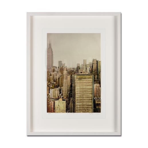 Gottfried Salzmann – NY Empire State Building, 2014 - Gottfried Salzmanns erste 3D-Edition. 25 Exemplare – jedes ein Unikat.