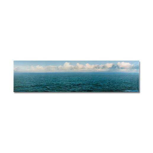 Helmut Ditsch – Das Meer II - Helmut Ditsch: Fotorealismus in höchster Präzision. Die erste signierte Edition des teuersten Künstlers Argentiniens. Maße: 170 x 42,5 cm