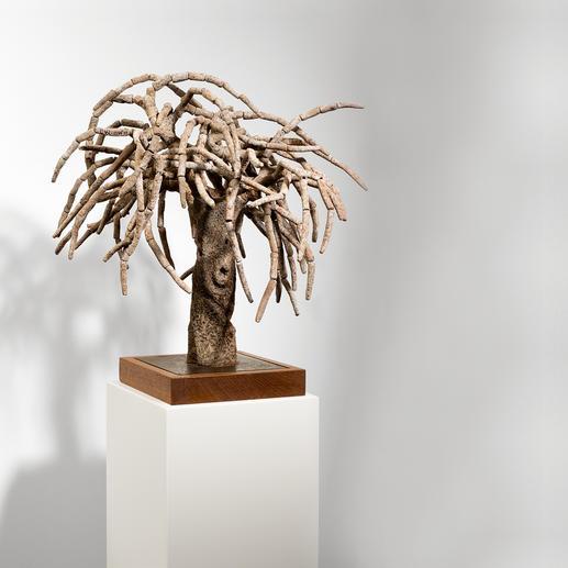 Andreu Maimó – el árbol - Ein kulturelles Wahrzeichen Mallorcas – von Hand aus Ton gefertigt. Erste Unikatserie des Mallorquiners Andreu Maimó. 16 Exemplare.