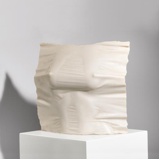 Willi Kissmer – Relief 3 - Willi Kissmers erste Steingussauflage. 49 Exemplare – jedes ein Unikat. Exklusiv bei Pro-Idee. Maße: 25 x 26 x 9 cm
