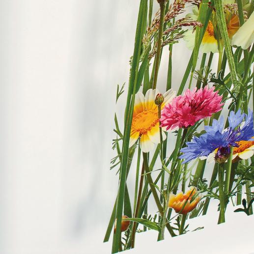 Der Druck auf zwei Acrylglassscheiben lässt 3 Ebenen mit spannender Wirkung von Licht und Schatten entstehen.