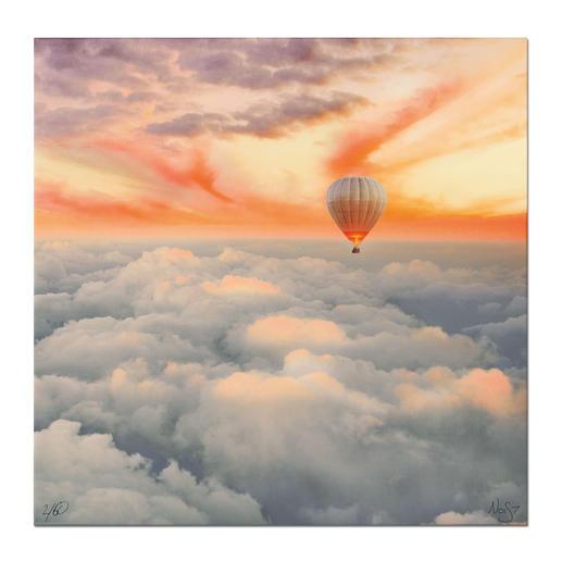 Robert Jahns – Candy Cloud Robert Jahns: Einer der populärsten Instagram-Stars. Seine erste Leinwand-Edition – exklusiv bei Pro-Idee. 60 Exemplare. Maße: 100 x 100 cm