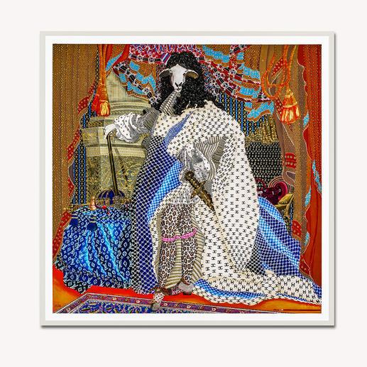 Adam Karamanlis – Status Adam Karamanlis´ Werke bei Christie´s in Düsseldorf. Und nun bei Ihnen zu Hause. Handübermalte Edition seines bedeutendsten Werkes. 40 Exemplare. Maße: gerahmt 109 x 109 cm