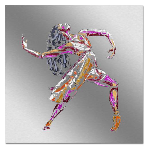 Paul La Poutré – Love to Dance Paul La Poutré:  Unikatserie – 100 % von Hand auf Edelstahl gemalt. (Die erste war nach wenigen Tagen ausverkauft.) 24 Exemplare. Exklusiv bei Pro-Idee. Maße: 100 x 100 cm