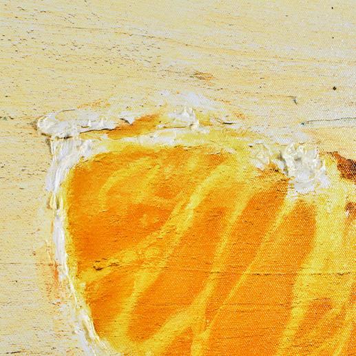 Die bis zu 5 mm dicke Firniss schafft eine eindrucksvolle Patina.