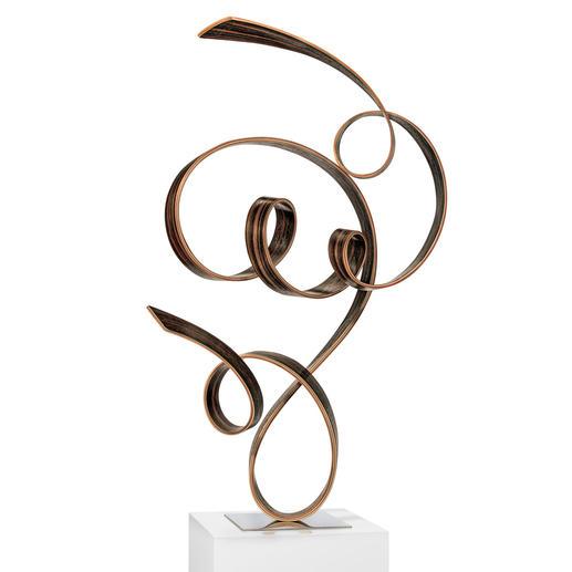 Jacinto Moros – FTK, 2020 - Einzigartig: Jacinto Moros puristisch-virtuose Holzskulptur. 100 % Handarbeit. Erste Unikatserie des renommierten Künstlers. Maße: 45 x 70 x 33 cm