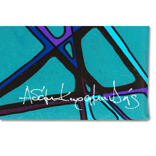 Jedes Exemplar mit Signatur und Handübermalung des Künstlers.