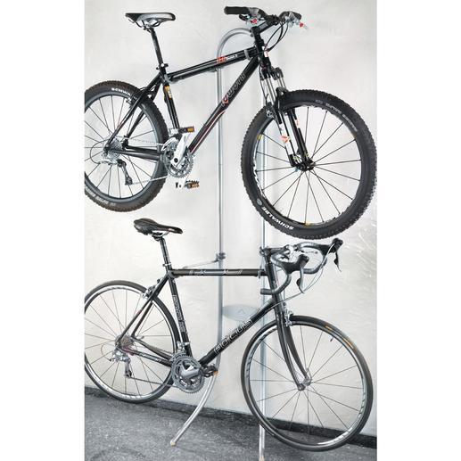 """Fahrrad-""""Garderobe"""" Kein Bohren. Kein Schrauben. Einfach aufhängen."""