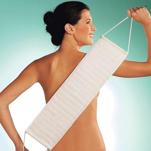 Sanft und schonend reinigen Sie jetzt auch schwer zugängliche Körperzonen.