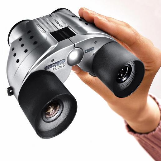 Fernglas Vektor Zoom - Vergrößert bis zu 15fach.