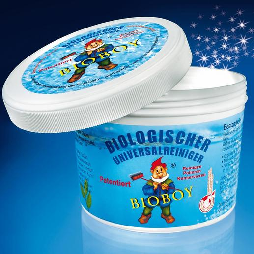Bioboy Universalreiniger - Der Keim- und Bakterien hemmende Universalreiniger – hautfreundlich, geruchsneutral, besonders wirksam.