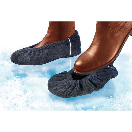 Anti-Rutsch-Überzieher, 2 Paar - Für jeden Schuh: Wirksamer Schutz vor üblen Verletzungen bei Eis, Schnee und Nässe.