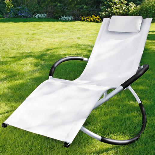 rocking chair schaukelstuhl schwarz oder wei 3 jahre garantie. Black Bedroom Furniture Sets. Home Design Ideas