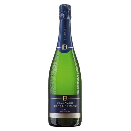 Champagne Forget-Brimont Brut Premier, Forget-Brimont, Champagne, Frankreich Champagner Premier Cru. 91 Punkte im Wine Spectator in der Ausgabe vom 31.12.2012. Zweimal 90 Punkte von Robert Parker (Wine Advocate 192, 12/2010 & 197, 11/2011).