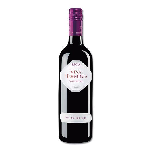 Viña Herminia Tempranillo 2012, Rioja DOC, Spanien, EDITION PRO-IDEE - Unser Verkostungssieger. (Von mehr als 40 verkosteten Rioja-Weinen)
