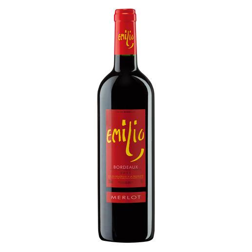 Emilio Merlot 2012, Bordeaux AOC, Frankreich - 17 (!) Jahrgänge machte er 500-Euro-Weine. Hier ist sein neuester Coup.