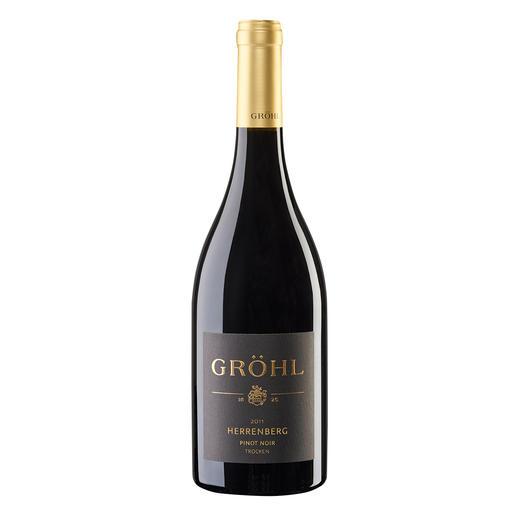 """Pinot Noir """"Oppenheimer Herrenberg"""" 2012, Weingut Gröhl, Rheinhessen, Deutschland - Herausragender Weinmacher. Herausragende Lage. Herausragender Wein."""