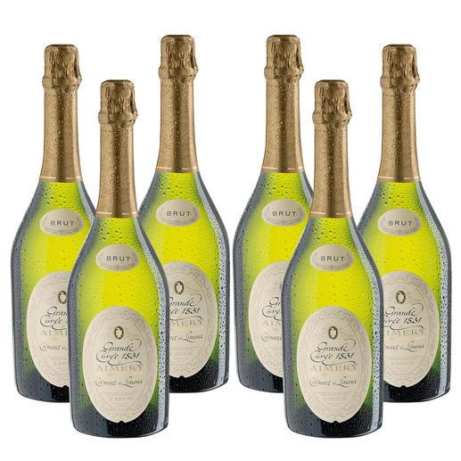 Crémant de Limoux, 6 Flaschen à 0,75 l 9 Champagner unter den Top 10. Und eine Sensation. (Stern, 49/2007)