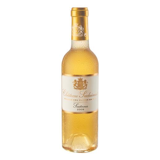 """Château Suduiraut 2009, Sauternes, Bordeaux, Frankreich - """"Bravo!"""" (Robert Parker, www.robertparker.com, Wine Advocate 205, 02/2013)"""